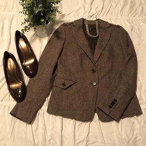 Ann Taylor tweed blazer